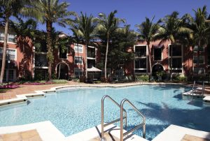 Crescent Apartment Pool in Miami Lakes