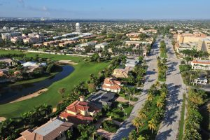 Weston Florida Ariel View