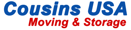 Cousins USA Moving & Storage Logo