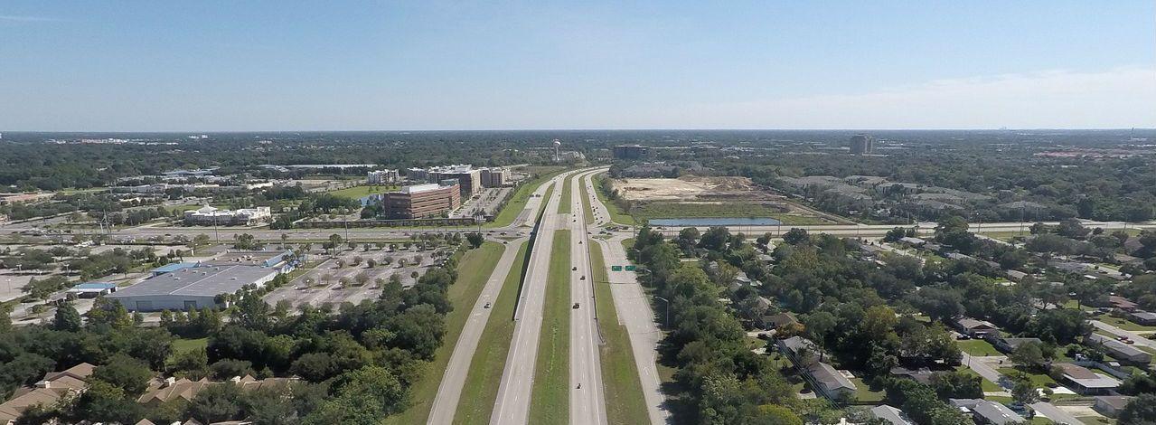open Florida highway